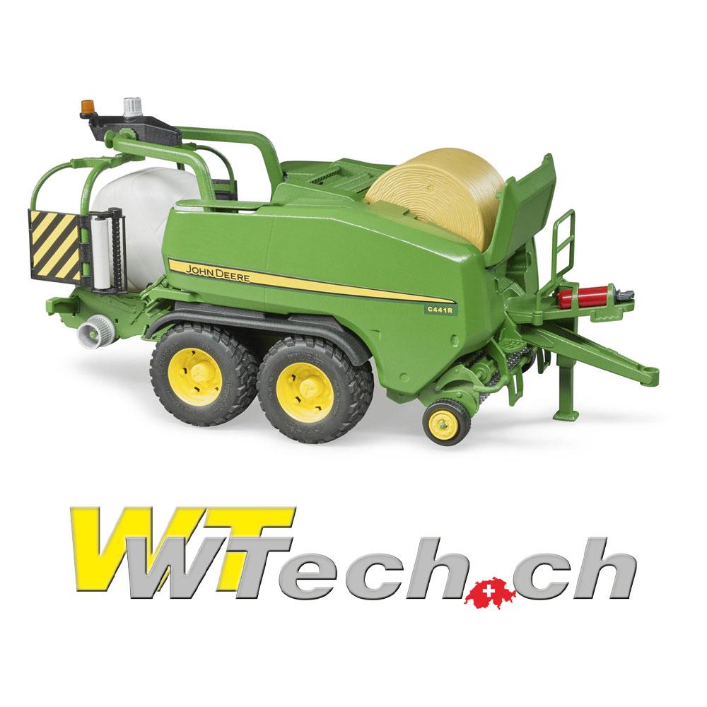 97cd6b53135fe1 02032 John Deere Presswickelkombination C441R , Bruder Spielzeug auf  WTech.ch, Onlineshop für Spielzeuge